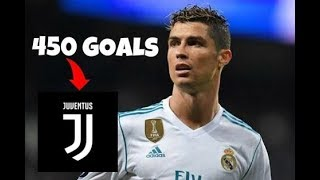 Cristiano Ronaldo All 450 Goals  Real Madrid W English Commentary