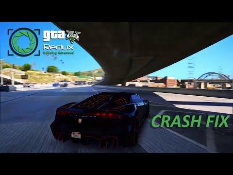 How To Fix GTA V Redux Mod Crash | ReShade Fix/Loading Crash Fix [2018]