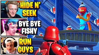 Streamers Host FUNNIEST HIDE AND SEEK Game | Fortnite Daily Funny Moments Ep.537