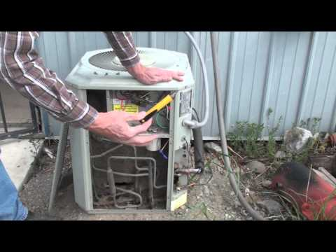 Servicing the air conditioner part 1