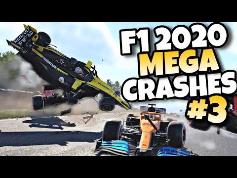 F1 2020 MEGA CRASHES #3