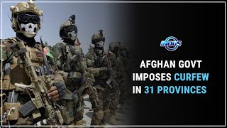 Daily Top News | AFGHAN GOVT IMPOSES CURFEW IN 31 PROVINCES | Indus News