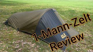 Gossamer 1 Jack Wolfskin Zelt Review Outdoor - Bushcraft - Survival