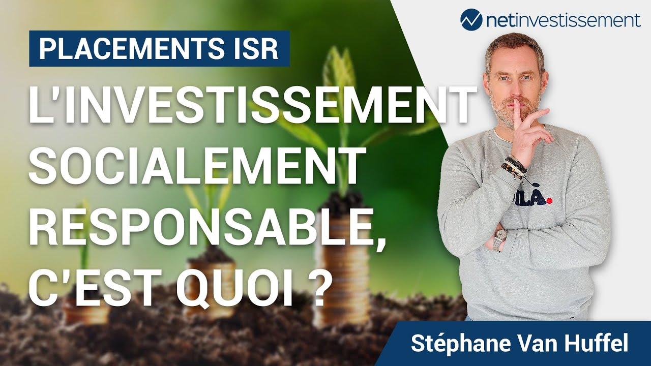 ISR : L'Investissement Socialement Responsable c'est quoi ?   Netinvestissement