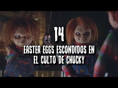 14 EASTER EGGS ESCONDIDOS en la película EL CULTO DE CHUCKY (THE CULT OF CHUCKY)
