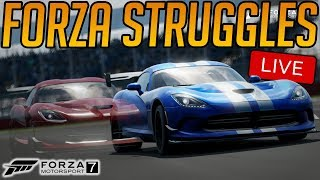 Forza 7: Struggles for Seattle SWEAT MODE = ENGAGED (+GIVEAWAY WINNER)
