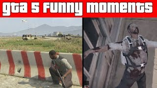 GTA 5 Funny Moments Pt.135 - WHERE'S MY BACK UP!   GTA 5 Funny Moments