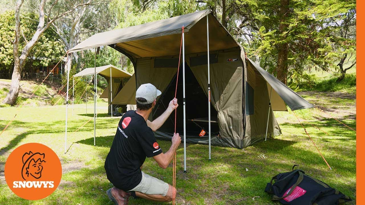RV-5 Plus Canvas Touring Tent