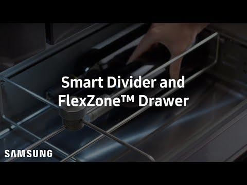 CUSTOMIZED COOLING & ORGANIZATION – SMART DIVIDER AND FLEXZONE™ DRAWER