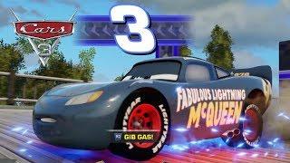 CARS 3 DEUTSCH GANZE FOLGE GAME Fabulous Lightning McQueen Hearthland FlussLauf German TV Spiel Film