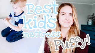 Best Mattress For Kids | Puffy Twin Mattress Review