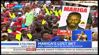 Mariga's name not found in the IEBC voters registry