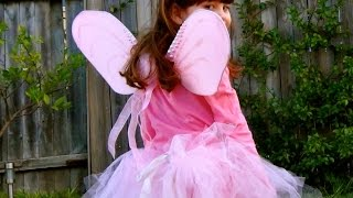 How To Ballerina Costume: Make A No Sew Ballerina Tutu