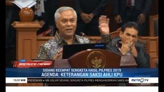 (Full) Saksi Ahli KPU Bungkam Tim Prabowo Soal Situng & Keamanan Server KPU