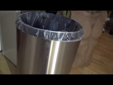 Treteimer Mülleimer Abfalleimer mit Absenkautomatik, toll verarbeitet, und genau die richtige Größe