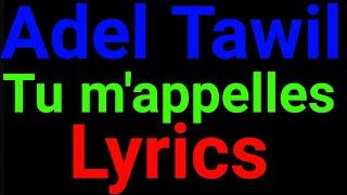 Adel Tawil | Tu M´appelles | Lyrics