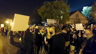 G24. Protest pod siedzibą Kurii – 25 października 2020
