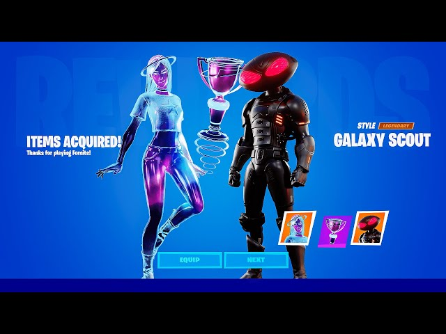 How Quick Have You Receive Galaxy Skin Fortnite Fortnite Galaxy Scout Skin Gameplay Leaked New Free Skin