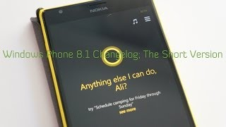 preview picture of video 'Windows Phone 8.1 Changelog; The Short Version (MyNokiaBlog)'