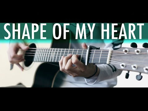 SHAPE OF MY HEART (Sting) Lucid Dreams⎪Acoustic guitar fingerstyle