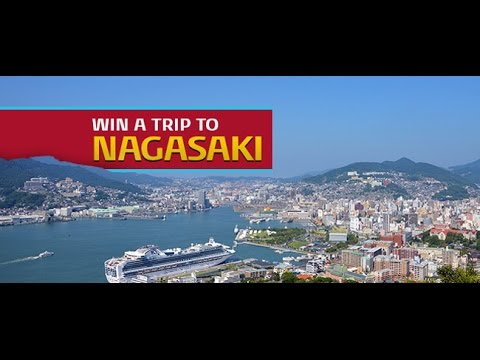 iFly TV: Maud Laurens from Leiden, Holland wins a trip to Nagasaki