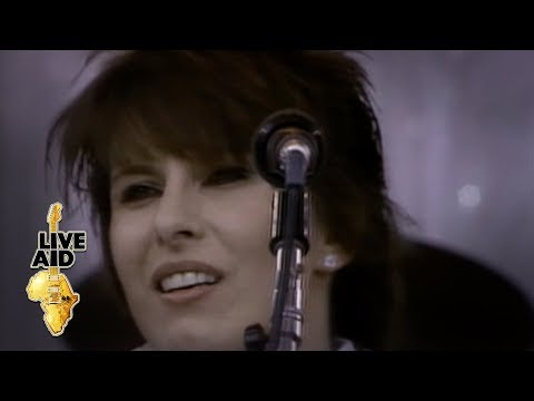Pretenders - Back On The Chain Gang (Live Aid 1985)