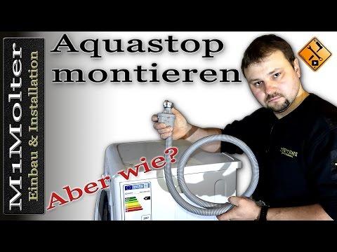 Aquastopschlauch Montieren - Anschließen von M1Molter
