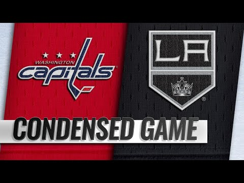 02/18/19 Condensed Game: Capitals @ Kings