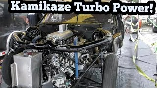 Kamikaze Twin Turbo El Camino Power!!