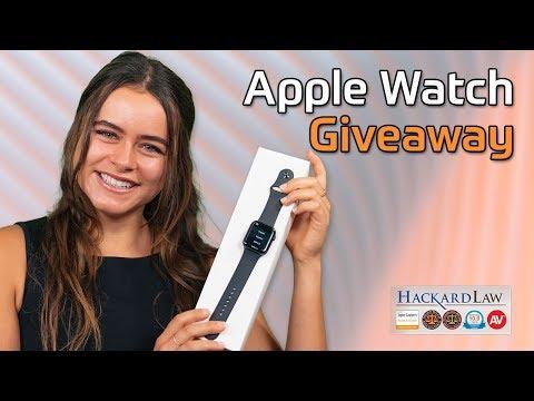 Hackard Law's Apple Watch Giveaway