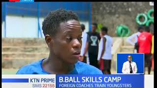 More than 50 junior basketball players showed up for the vikapu elite basketball camp in Nairobi