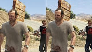 Grand Theft Auto 5: PS4 vs PC Comparison