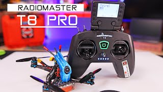 Radio Master T8 Pro - The Little FPV Drone Radio Controller - Review
