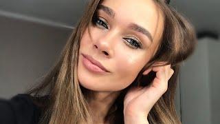 Сексуальный НОВОГОДНИЙ МАКИЯЖ/пошаговое обучение макияжу/ блестящий макияж