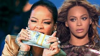 Rihanna tops Beyonce' named the 'RICHEST female artist'