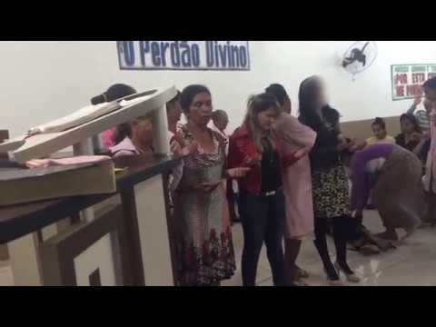 EV. Polliana libertação forte em Aragoiania-GO!