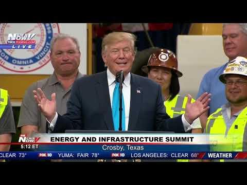 FULL SPEECH: President Trump - Crosby, Texas - FOX 10 Phoenix