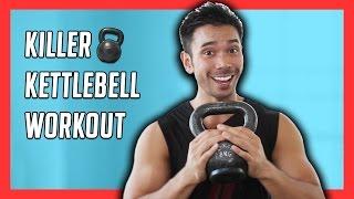 10 Minute Kettlebell Workout for an Efficient Total Body Workout // Mike Donavanik by Mike Donavanik - MikeDFitness