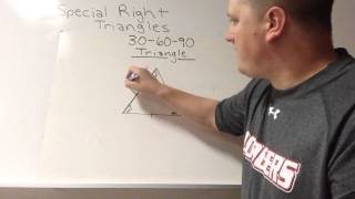 Unit F Video 3 - Special Right Triangles