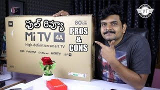 Xiaomi MiTV 4A Review With Pros & Cons ll in telugu ll