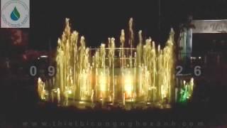 Đài phun nước - hồ phun nước KHách Sạn Hòa Bình Tây Ninh