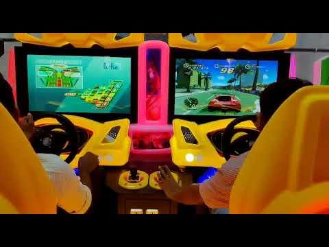 Car Racing Arcade Game Machine Out Runner