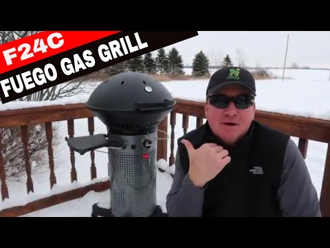 FUEGO PROFESSIONAL F24C GAS GRILL REVIEW