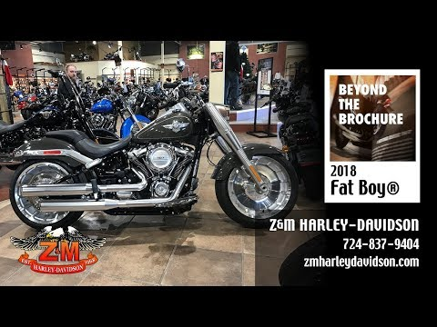 2018 Harley-Davidson Fat Boy®107 in Greensburg, Pennsylvania