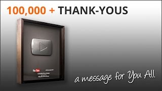 Thank You - 100000 subscribers