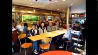 台湾新聞20131019「呉さんの包丁」台湾料理店試写会