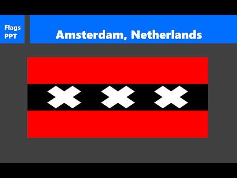 Analyzing Flags #3: Amsterdam, Netherlands