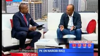 Peter Kenneth promises to restore Nairobi's lost glory