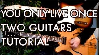 You Only Live Once   The Strokes ( Guitar Tab Tutorial & Cover )