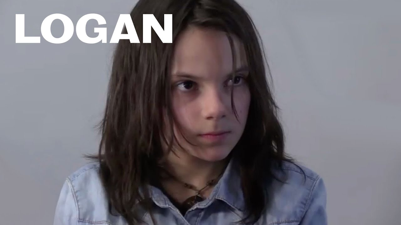 Logan - Dafne Keen's Audition Tape with Hugh Jackman